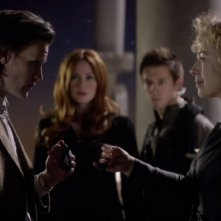 Doctor Who: Matt Smith ed Alex Kingston nell'episodio The Wedding of River Song