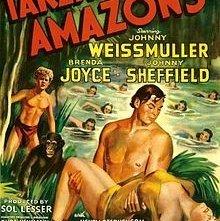 Tarzan e le amazzoni: la locandina del film