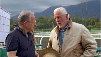 Luck: Michael Mann e Nick Nolte sul set della serie