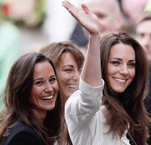 Pippa e Kate Middleton