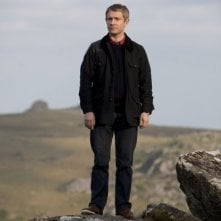 Sherlock: Martin Freeman nell'episodio The Hounds of Baskerville