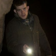 Sherlock: Russell Tovey in un momento dell'episodio The Hounds of Baskerville