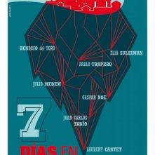 7 giorni all'Havana: il poster del film