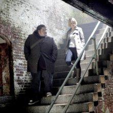 Alcatraz: Jorge Garcia e Sarah Jones nel pilot della serie
