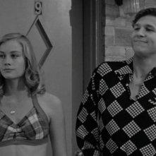 Cybill Shepherd e Jeff Bridges amoreggiano in una scena de L'ultimo spettacolo