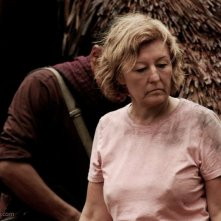 Kathy Mulville in una scena del film Captive, diretto da Brillante Mendoza