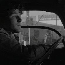 Timothy Bottoms alla guida del suo furgone ne L'ultimo spettacolo