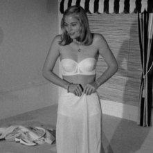 Una giovanissima e sensuale Cybill Shepherd in lingerie ne L'ultimo spettacolo