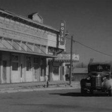 Unìimmagine della polvrosa cittadina in cui è ambientato L'ultimo spettacolo