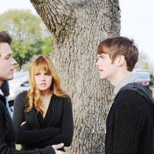 Beneath the Darkness: Stephen Lunsford, Aimee Teegarden e Tony Oller in una scena