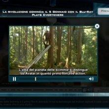 L'alba del pianeta delle scimmie in blu-ray: un'immagine tratta dal trailer interattivo 'La nascita di un conflitto'