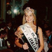 Arianna David dopo l'elezione a Miss Italia 1993
