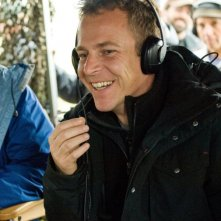 Il regista Asger Leth sul set del film 40 carati