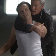 Richard Gere insieme a Stephen Moyer in una scena del film The Double