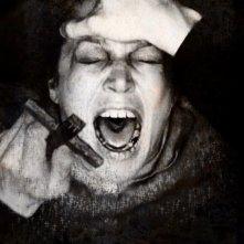 Suzan Crowley in una sconvolgente scena del film L'altra faccia del diavolo