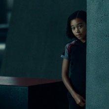 Una spaurita Amandla Stenberg in The Hunger Games