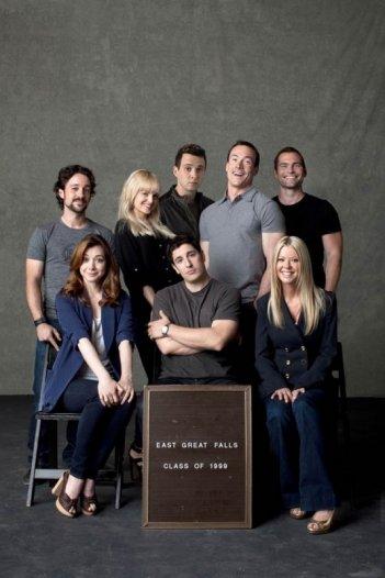 American Pie - Ancora insieme: il cast al completo in una foto promozionale