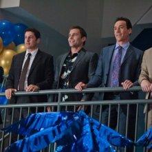 American Pie - Ancora insieme: Jason Biggs, Chris Klein, Thomas Ian Nicholas, Seann William Scott e Eddie Kaye Thomas in una scena del film