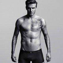 David Beckham in posa per l'intimo H&M