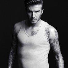 David Beckham posa per l'intimo H&M