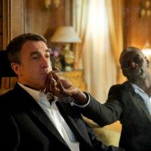 François Cluzet e Omar Sy in una curiosa scena di Intouchables