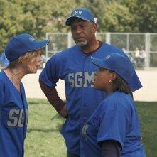 Grey's Anatomy: Ellen Pompeo, Chandra Wilson e James Pickens nell'episodio Put Me in, Coach