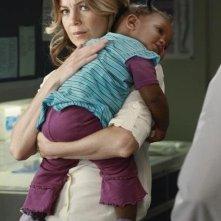 Grey's Anatomy: Ellen Pompeo nell'episodio Free Falling