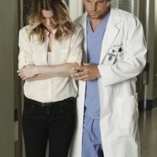 Grey's Anatomy: Justin Chambers ed Ellen Pompeo nell'episodio Free Falling