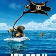 L'era glaciale 4: Continenti alla deriva, un teaser poster del film