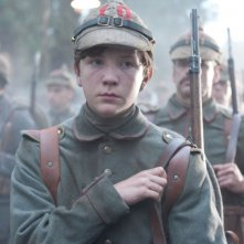 Leonhard Carow in una scena del film War Horse