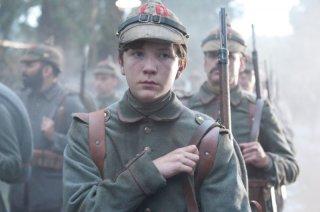 Leonhard Carow in una scena del film War Horse