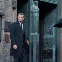 Millennium - Uomini che odiano le donne: Daniel Craig in una scena del film nei panni di Mikael Blomkvist