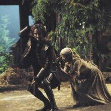C'era una volta: Jessy Schram e Robert Carlyle nell'episodio The Price of Gold
