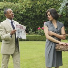 Once Upon a Time: Lana Parrilla e Giancarlo Esposito nell'episodio The Thing You Love Most