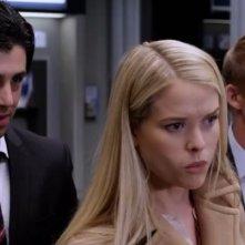 Alice Eve, Brian Geraghty e Josh Peck in una scena di ATM