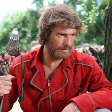 Giorgio Pasotti nei panni di Giuseppe Garibaldi in una scena della miniserie di Rai Uno, Anita