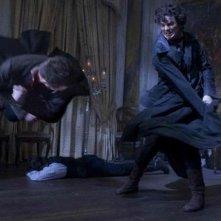Un momento spettacolare di lotta in Abraham Lincoln: Vampire Hunter