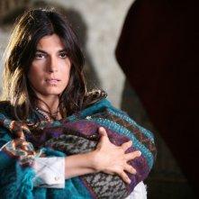 Valeria Solarino in una scena della miniserie di Rai Uno, Anita