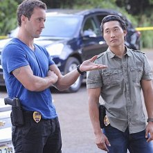Hawaii Five-0: Alex O'Loughlin e Daniel Dae Kim nell'episodio Ka Iwi Kapu