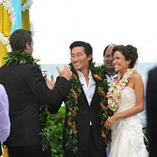 Hawaii Five-0: Daniel Dae Kim e Reiko Aylesworth nell'episodio Alaheo Pau'ole