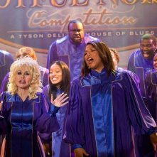 Queen Latifah e Dolly Parton in Joyful Noise con Keke Palmer
