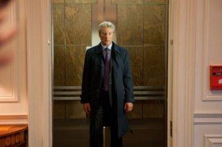 Richard Gere in una scena del thriller Arbitrage