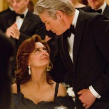 Richard Gere insieme a Susan Sarandon in una scena di Arbitrage