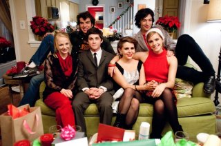 Foto di gruppo per il cast di The Perks of Being a Wallflower. Tra gli interpreti troviamo Logan Lerman, Emma Watson, Mae Whitman, Ezra Miller e Nicholas Braun
