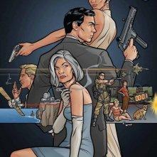 Archer: un poster della stagione 3