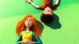 Ted e Audrey in una scena del film Lorax - Il guardiano della foresta