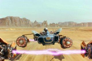 Star Wars: Episode I - La minaccia fantasma 3D, una scena del film rieditato in tre dimensioni