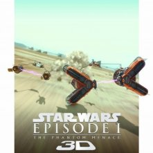 Star Wars: Episode I - The Phantom Menace 3D: nuovo poster USA 2