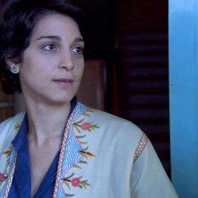 Donatella Finocchiaro in una scena del film Sulla strada di casa