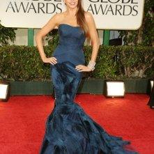 Golden Globes 2012: Sofia Vergara di Modern Family sul tappeto rosso
